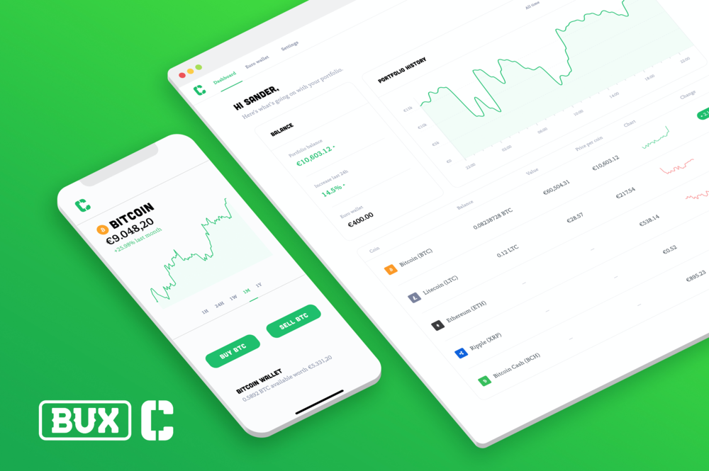 BUX Crypto Launch