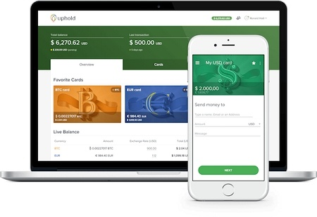 how to add currencies to your uphold wallet