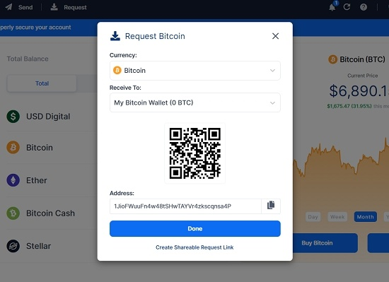 how to add currencies via blockchain wallet