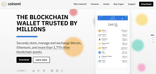 how to create a coinomi wallet account