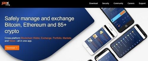 jax wallet home page