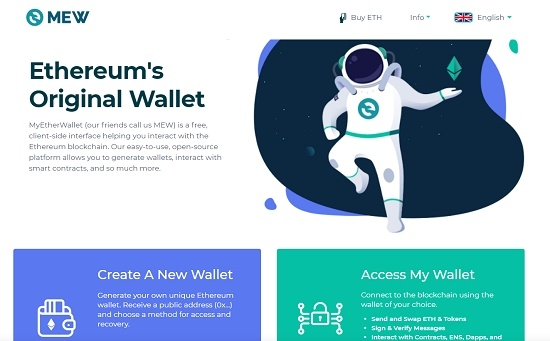 myetherwallet create a new wallet