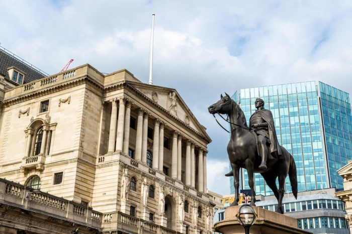 Bank of England Faces Negative Rate Talks