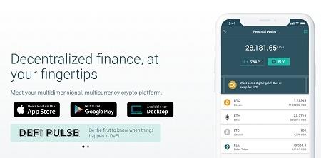 eidoo wallet open account