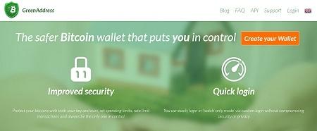 green address create account