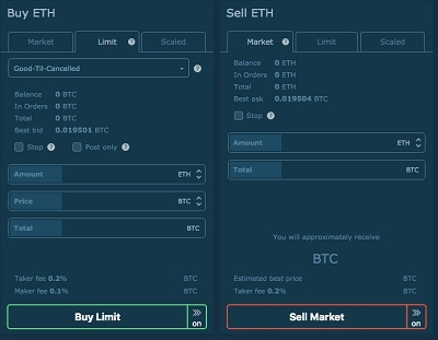 hitbtc buy sell cryptocurrencies