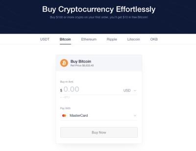 okex buying cryptocurrencies