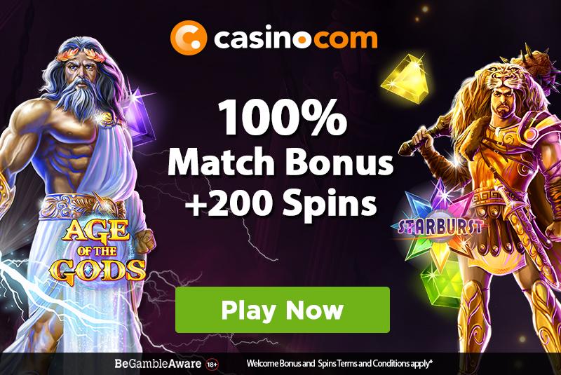 casino.com bonuses
