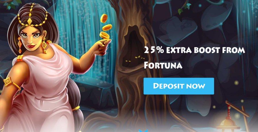 casinogods fortuna bonus
