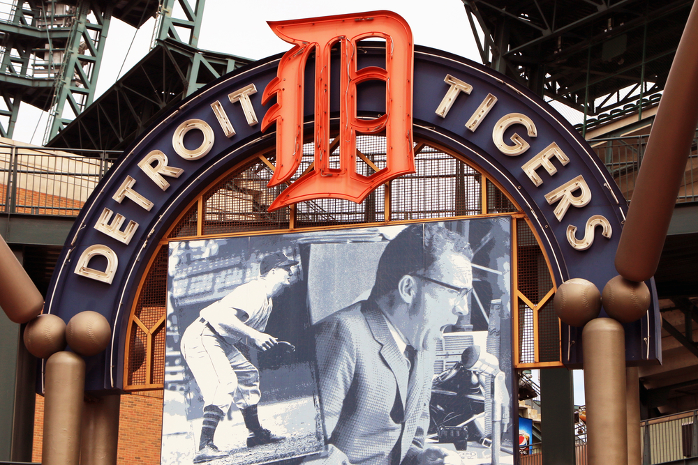 Detroit Tigers name official gaming partner