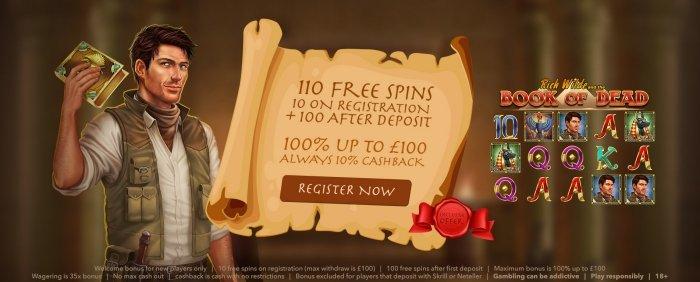 all british casino 10 free spins