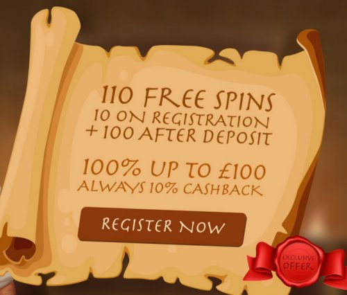 all british casino welcome offer 10 free spins
