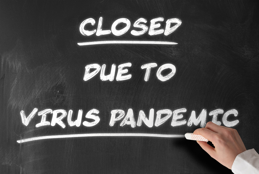 casinos closed due to the pandemic