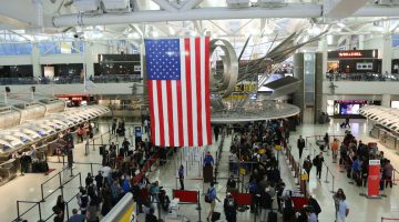 closures in May reflect the airports in the US