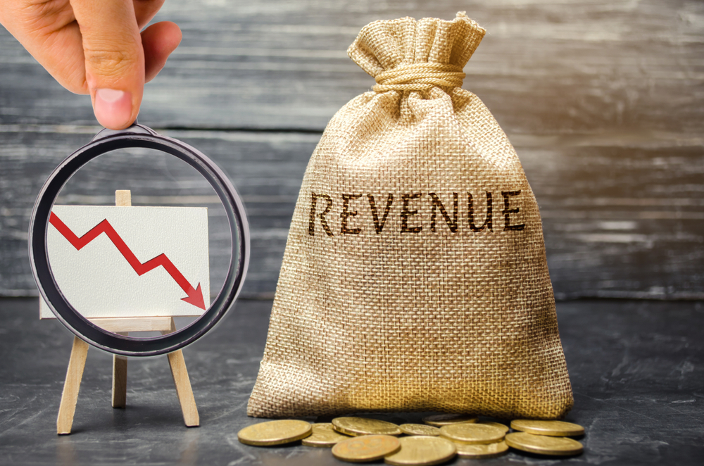 revenue decline