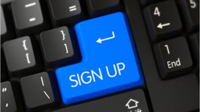 casino sign up process