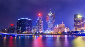 gaming employment rate macau