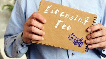 keringanan biaya lisensi