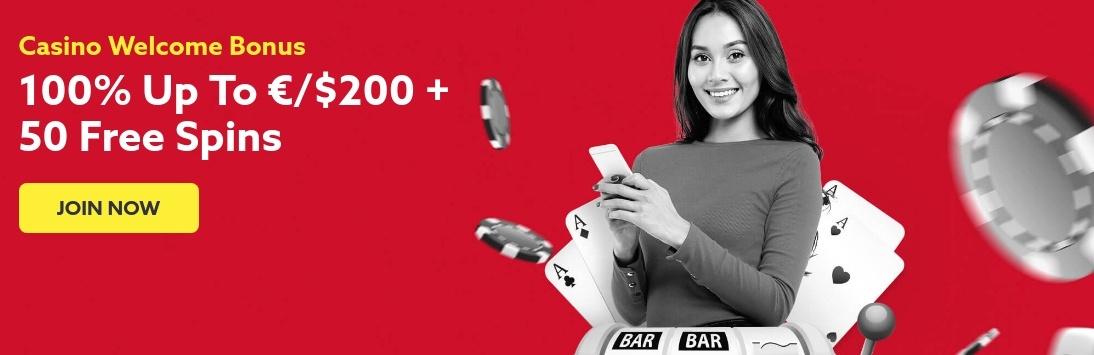 FunBet Casino Welcome Bonus