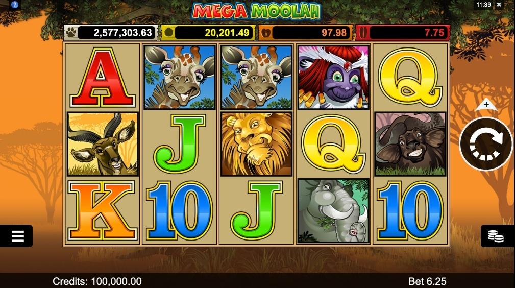 mega-moolah-slot-design-and-graphics