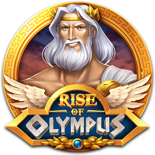 rise of olympus slot logo