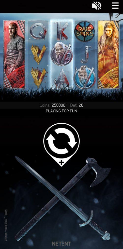vikings slot design mobile