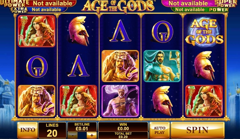 age-of-the-gods-slot-design-and-graphics