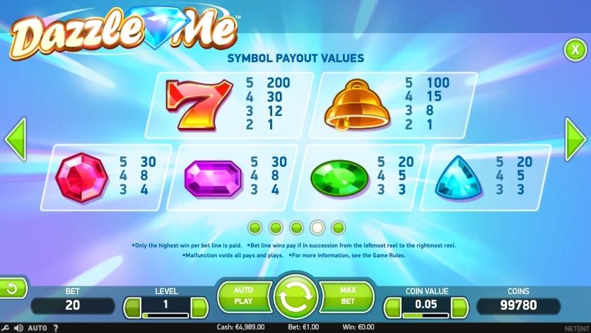 dazzle-me-slot-winning-symbols
