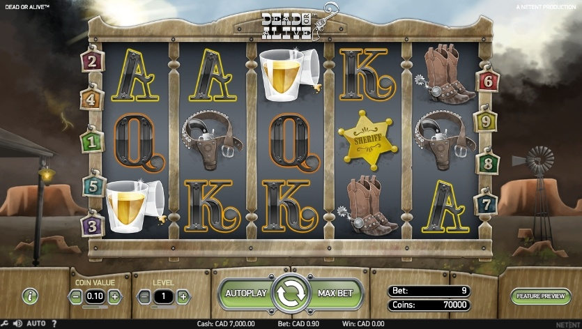 dead-or-alive-slot-design-and-graphics