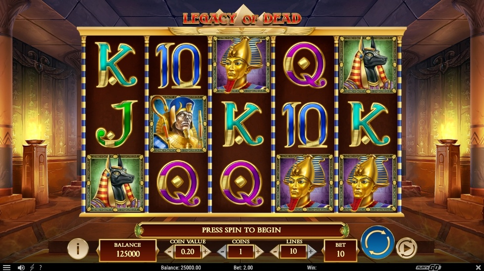legacy-of-dead-slot-design-and-graphics