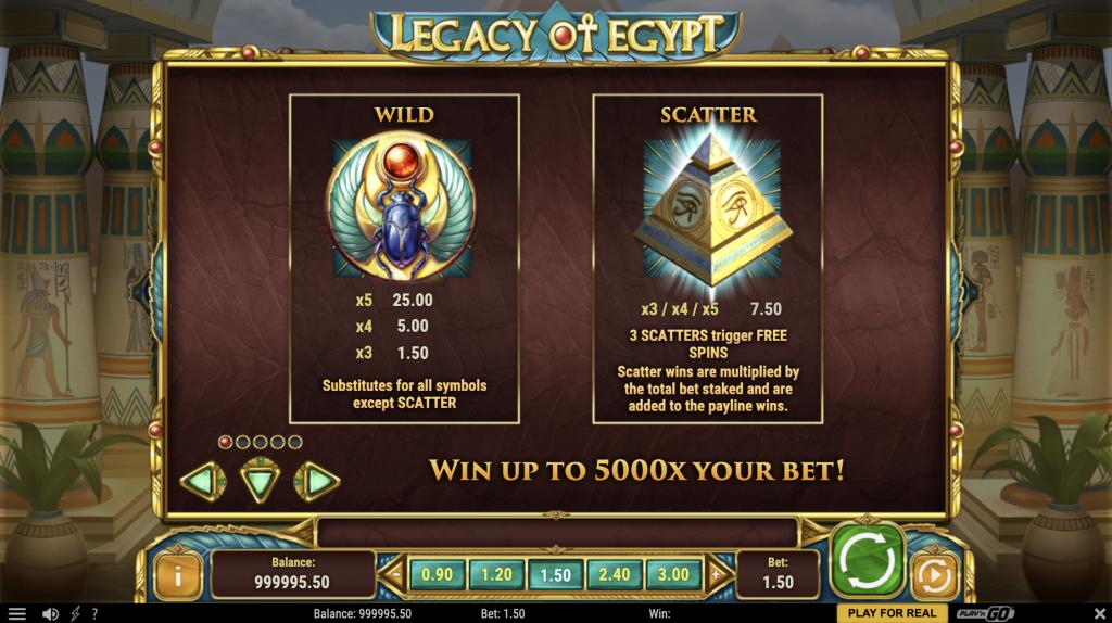 legacy-of-egypt-slot-winning-symbols
