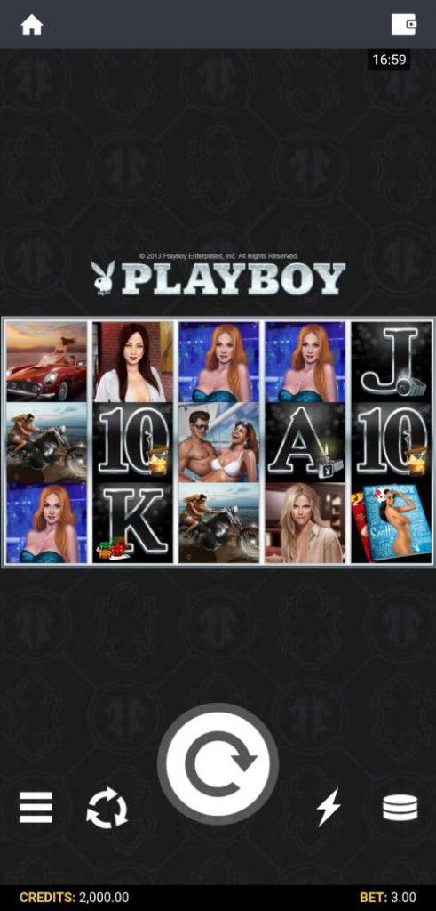 playboy slot home screenshot mobile