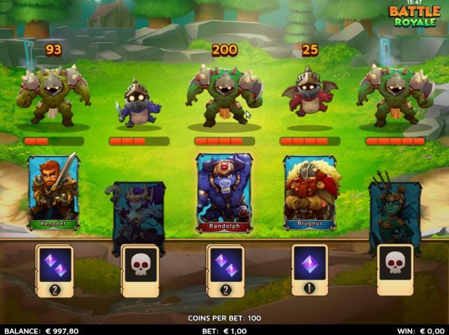 battle royale features