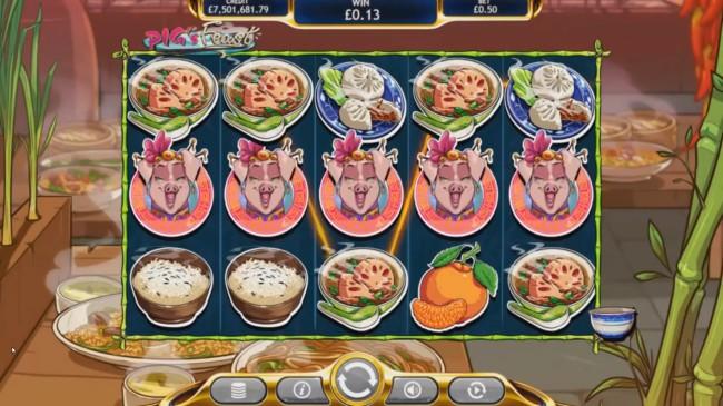 pig's feast design