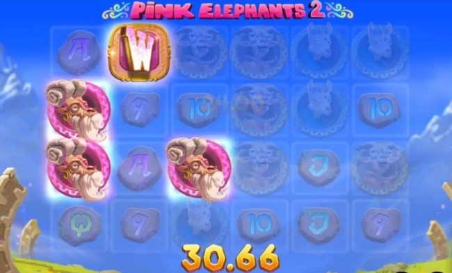 pink elephants 2 slot features