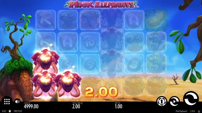 pink elephants slot design3