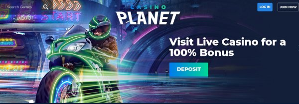 casino planet live bonus