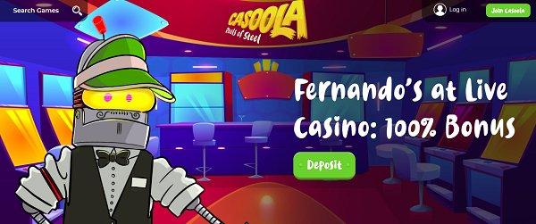 casoola casino live bonus