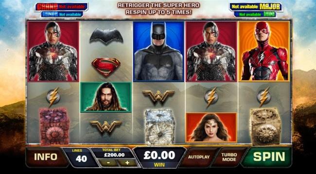 justice league slot design1