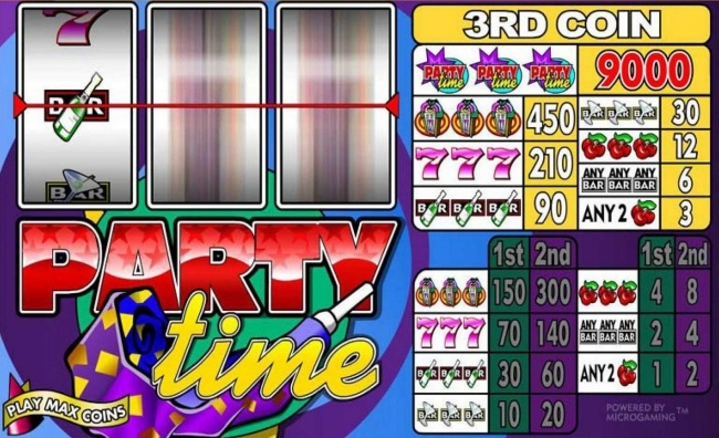 party time slot design3