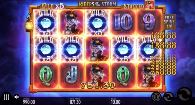 riders of the storm slot design3