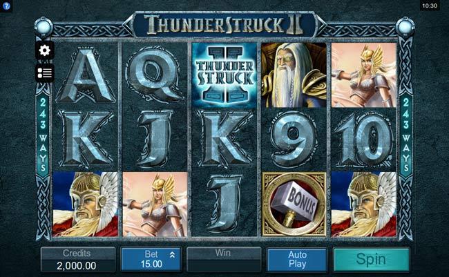 thunderstuck ii slot design2