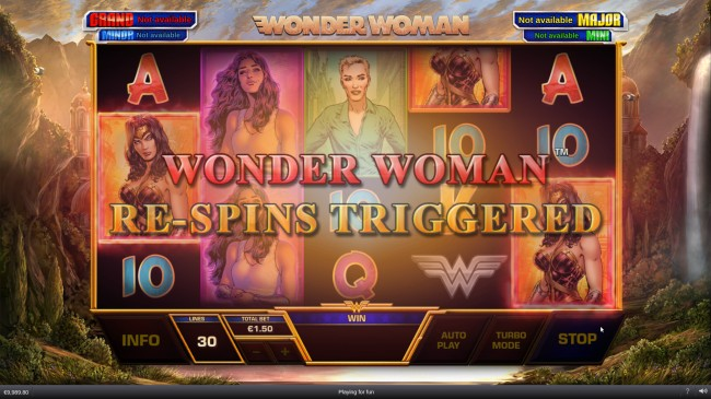 wonder woman features