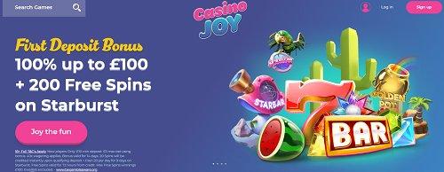 casinojoy trustly