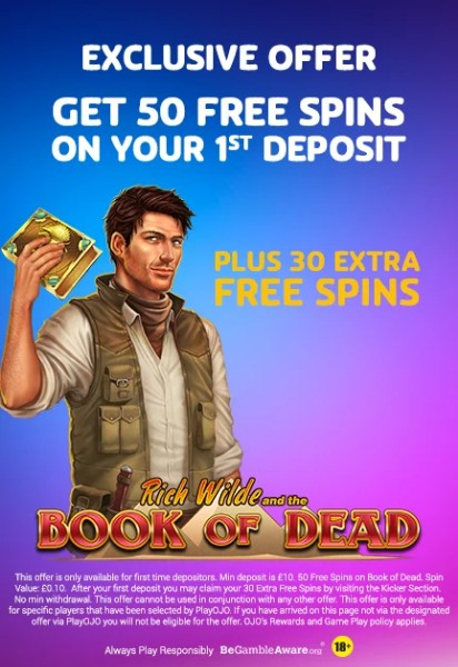 playojo welcome bonus uk